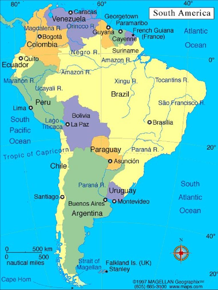 map thinking circle southamerica